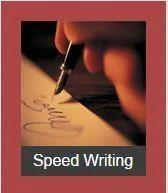 Speed Writing Classes