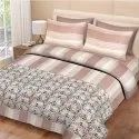 Cotton Bedsheet Check Print for Double Bed