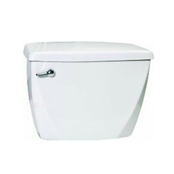 White And Ivory Single Flush Flush Tanks, for Bathroom