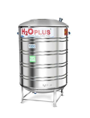 1000 L Insulated Stainless Steel Water Tank At Rs 59800 Piece Insulated Tank Id 17258205148