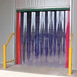 Double Ribbed PVC Strip Curtain