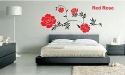 Big Stencils Red Rose