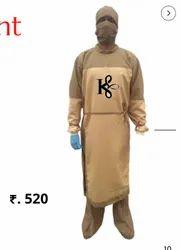 Full Sleeve Water Repellent Gown - Kinkob