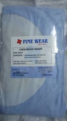 Non-Woven Disposable Cesarean Drape, for Gynec use