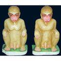 Marble Monkey Statue