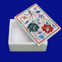 Handmade Natural Marble Inlay Box