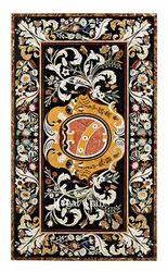 Marble Inlay Pietra Dura Table Tops