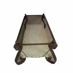 Wrought Iron Center Table, Size: 48''x30''x16''