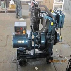 Silent or Soundproof Water Cooled Diesel Generator, For Industrial, 220 V
