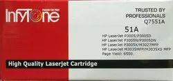 51A (Q7551A) Compatible Black Toner Cartridge For HP Printers