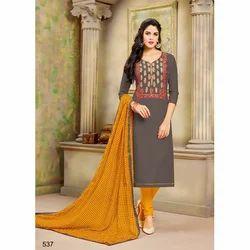 f55c148a16 Pure Kora Silk Natural Mystic Ganga Ethnic Wear Embroidery Work ...