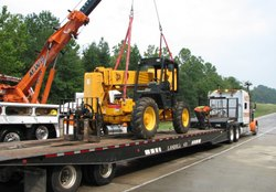 Industrial Equipment Transportation Service