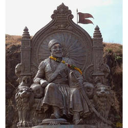 Matel Shivaji Maharaj Fiber Statue