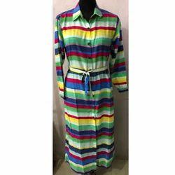 Ladies Multi Color Robe