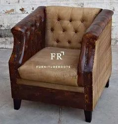 Commercial Furniture - Designer Single-Seat Sofa - Contract Furniture - Resort & Hotel Bar Furniture