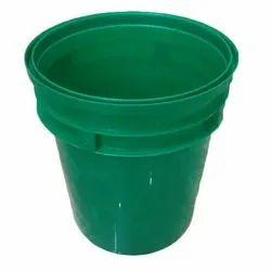 5 L Plastic Lubricant Oil Bucket