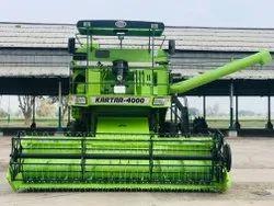 Paddy Kartar 4000 Combine Harvester