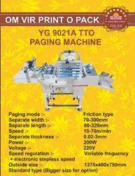 YG 9021A TTO PAGING MACHINE
