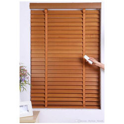 Wooden Window Blind, Size: 6 Feet X 3 Feet