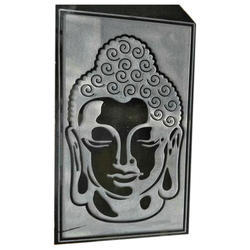 Lord Buddha Stone Mural