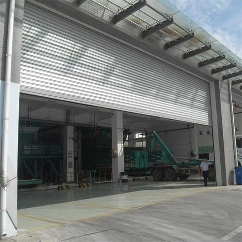 Full Height Single Phase Automatic Rolling Shutter