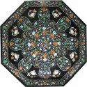 Inlay Marble Dining Table Top, Outdoor Table Top