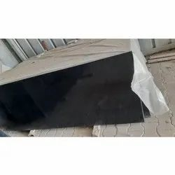 Polished South Black Granite Slab, Thickness: 15 to 16 mm