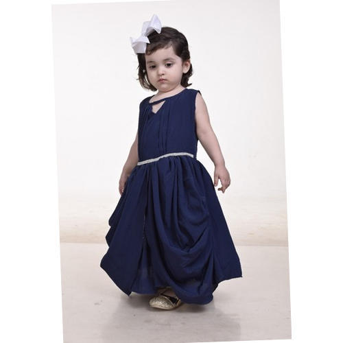ec009ea47bfe Satin Also Available In Velvet And Chiffon Party Wear Baby Purple Designer  Gown
