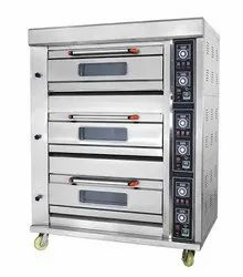 3 Deck 6 Tray Modern Bakery Gas Oven