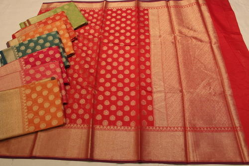 Banarasi Pure Chanderi Silk Saree