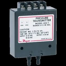 Dwyer Series 616 and 616C Differential Pressure Transmitter