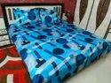Printed Satin Bed Sheets