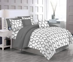 Comfort Grey Bed Sheet