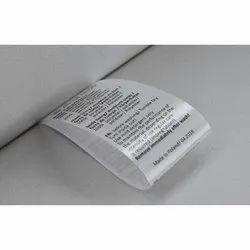 Rectangular Satin Label