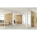 Stylish Office Glass Partition