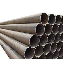 JINDAL Round Mild Steel Pipe, For Gas Handling, Diameter: 32mm to 150mm