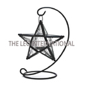 Star Shape Candle Lantern On Stand New Design
