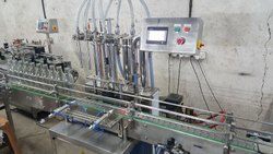 Packaging Line for Hand Sanitizer from Cleaning to Labelling