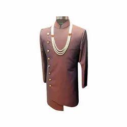 Tussar Silk Plain Mens Ethnic Wear, Size: M-XXL