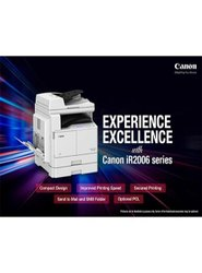 Canon Digital Copier Model iR2006N with Duplex, Supported Paper Size: A3