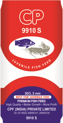 CPF Fish Feeds - CP 9910S 2 MM Floating Fish Feed Authorized