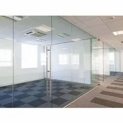 Frameless Office Glass Partitions