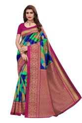 Stylish Party Wear Saree, Packaging: Packet