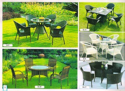 94df8927dca8 Shiva Garden Shop Black/white/brown Garden Furniture Set, Rs 20000 ...