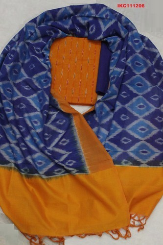 Ikat Cotton Salwar Suits