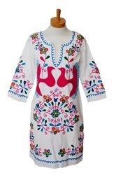 Mexican Embroidery Tunic