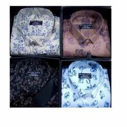 Optional Cotton Men's Printed Shirt