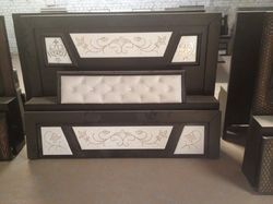MDF Counter Double Bed with Box