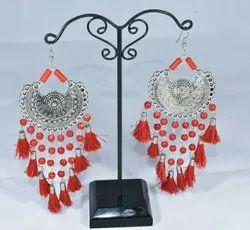 Afghani Tassel Earrings