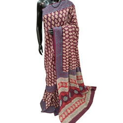 Ladies Printed Cotton Saree
